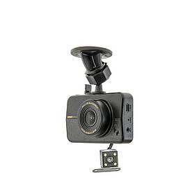 "Видеорегистратор CYCLONE DVH-47 Dual (обзор 170*, LCD 2.2"", 30sps, FHD1920*1080, 12 мес гарантия)"