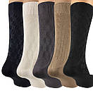 Шовкові чоловічі шкарпетки бежеві р. 39-42, фото 4