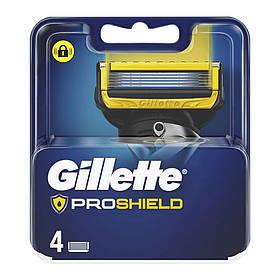 Сменные кассеты Gillette Fusion ProShield Oriqinal 4 шт. G00371