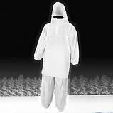 """Маскхалат """"Метель""""белый бязь, фото 3"""