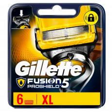 Сменные кассеты Gillette Fusion ProShield Oriqinal 6 шт. G00361