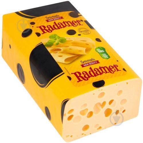 Сыр твёрдый Radamer Serenada ТМ Spomlek