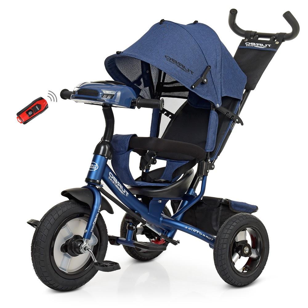 Дитячий триколісний велосипед, вільний хід, музична панель, батьківська ручка, M3115HA-11L Turbo Trike