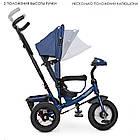 Дитячий триколісний велосипед, вільний хід, музична панель, батьківська ручка, M3115HA-11L Turbo Trike, фото 2