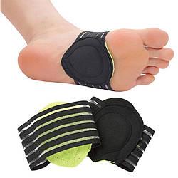 Ортопедичні напівустілки супінатори для взуття Strutz Зелені, устілки від плоскостопості