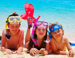 Пляж для дітей