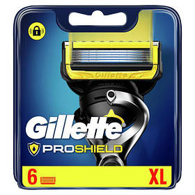 Сменные кассеты Gillette Fusion ProShield Oriqinal 6 шт. G00362