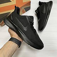 Кроссовки мужские Nike Zoom black кеды реплика ботинки Adidas