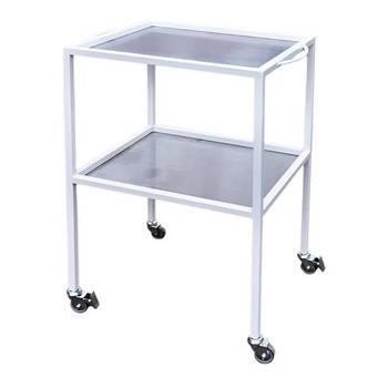 Столик медичний інструментальний спеціальний на колесах, стіл для медичних інструментів СИС Заповіт