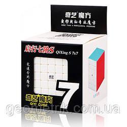 Кубик Рубика 7х7 Qiyi QiXing S (цветной пластик)(головоломка)