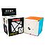 Кубик Рубика Axis cube без наклеек (QiYi), фото 2