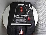 Переносной портативный походный душ для дачи и похода Camp Shower Камп Шовер 20л / 5 галлонов, фото 8