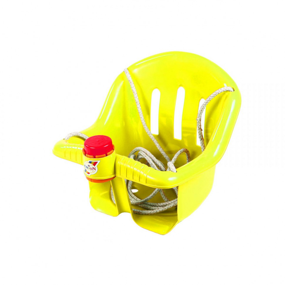 Дитячі пластикові гойдалки Orion 757OR підвісні (Жовтий)
