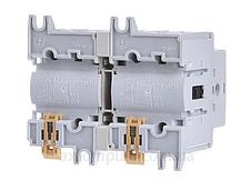 Выключатель напряжения (рубильник) поворотный Hager HIM404 I-0-II 40А 400/690В 4P 7м, фото 2