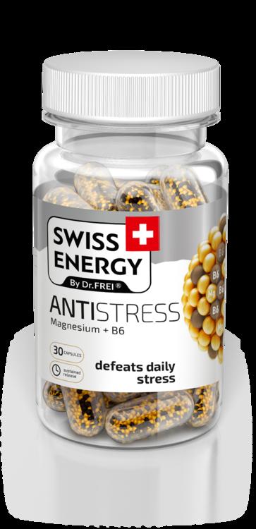 Вітаміни в капсулах Swiss Energy Antistress №30, Швейцарія (4205)