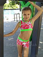 Детские шорты и топ для pole dance р.116-150