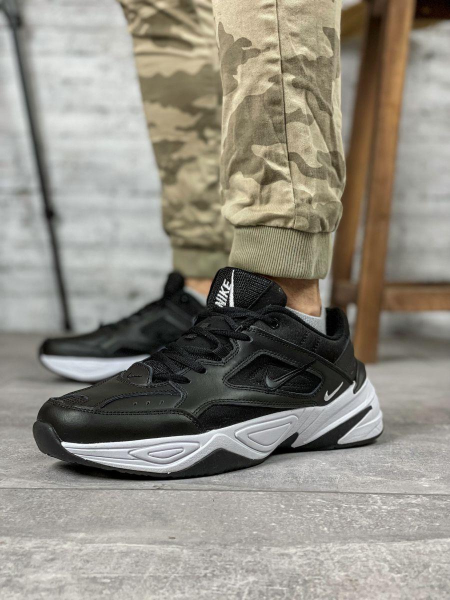 Кроссовки мужские 18203, Nike M2K Tekno, черные [ 44 ] р.(44-28,5см)