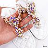 Босоножки женские Diamond белые 3994, фото 10