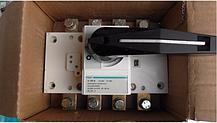 Вимикач напруги (рубильник) поворотний Hager HA454 4P 250А, фото 3