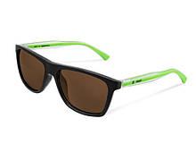 Поляризаційні сонцезахисні окуляри Delphin SG TWIST з коричневими лінзами