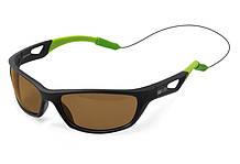 Сонцезахисні поляризаційні окуляри Delphin SG FLASH brown