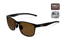 Сонцезахисні окуляри Delphin SG BLACK з коричневими лінзами