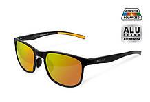 Поляризаційні сонцезахисні окуляри Delphin SG BLACK з помаранчевими лінзами