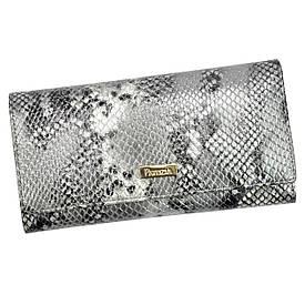 Женский кожаный кошелек Patrizia Piu SNR-100 RFID Серый