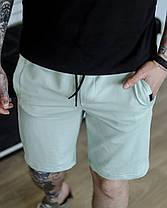 Шорти чоловічі базові літні темно-сині. Чоловічі літні шорти темно-синього кольору без принтів., фото 3