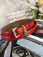 Красный женский ремень Prada Прада