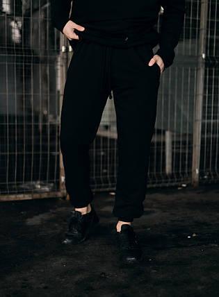 Штани Спортивні чоловічі Cosmo Intruder чорні трикотажні, фото 2