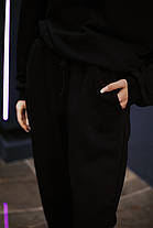 Штаны женские спортивные черные, фото 3
