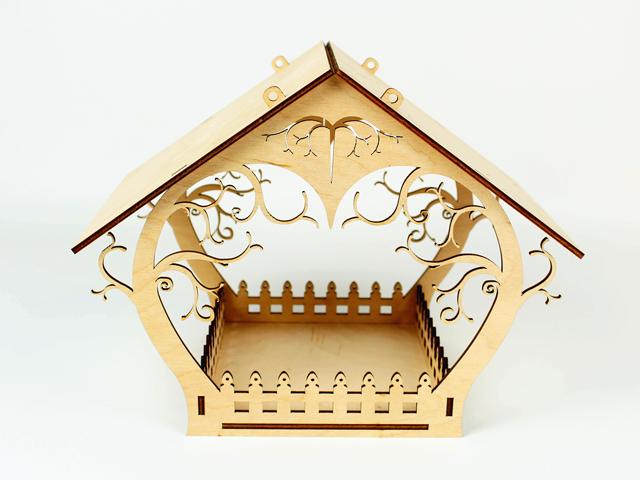 Годівниця для птахів з фанери