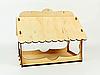 Декоративные кормушки для птиц подвесная 25х25х30 с оригинальным узором, фото 2