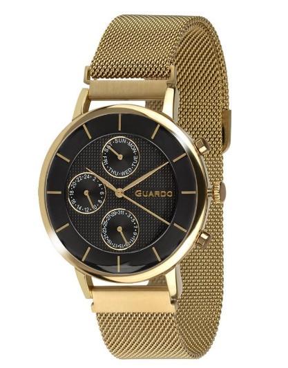 Годинник чоловічий GUARDO 012015-4 (m.GB) магнітний браслет