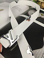 Женский кожаный ремень в стиле Louis Vuitton (Луи Витон) ЛВ