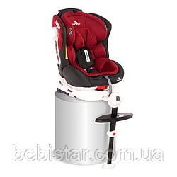 Автокресло Pegasus Isofix (0-36 кг) для детей с самого рождения до 12 лет Красный