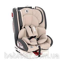 Автокресло Lorelli Roto Isofix (0-36 кг) для детей с рождения и до 12 лет Бежевый