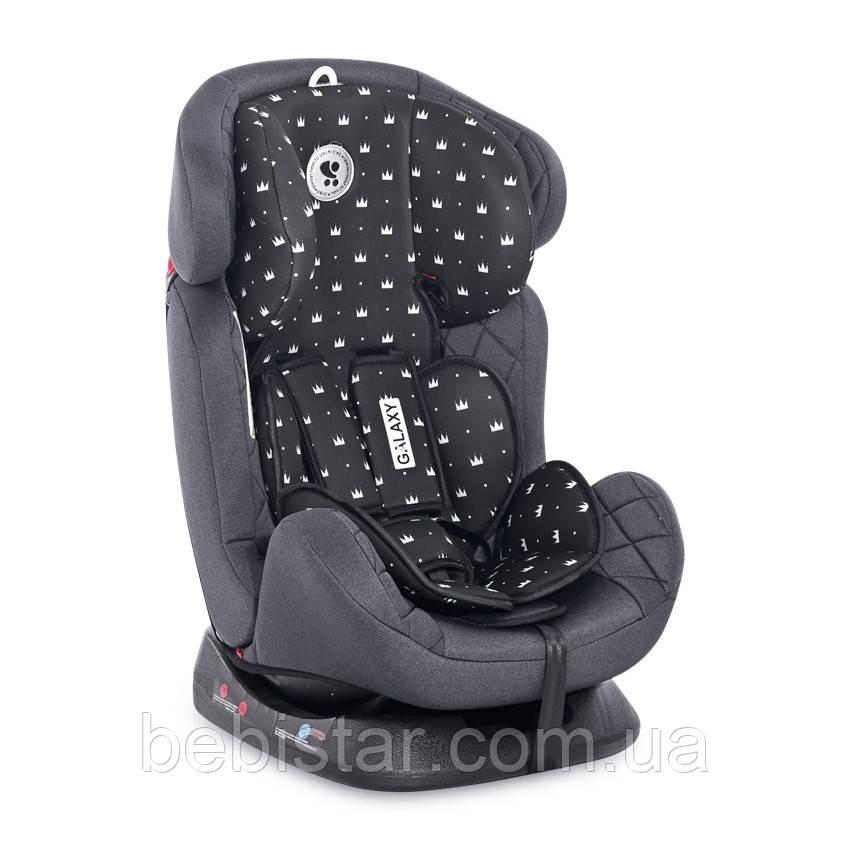 Автокрісло Lorelli Galaxy (0-36 кг) для дітей з народження і до 12 років Чорний