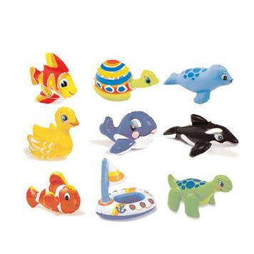 Надувні іграшки 36х18см,у кор-ці,20,5х15,5х2см,9 видів №58590(36)