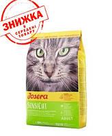 Корм Josera SensiCat 10 кг для кошек с чувствительным пищеварением (утка,индейка)