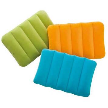 Надувна подушка 43х28х9см,3 кольор.,у кор-ці №68676(24) КІ