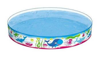 """Басейн дитячий """"Підводний світ"""",152х25см,435л, рем.комплект,в кор-ці, №BW55029B(6)"""