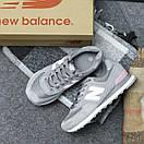 Жіночі Кросівки New Balance 574 Grey Pink, фото 7
