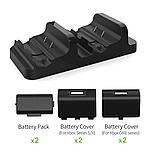 Док-станція DOBE + 2 акумулятора для геймпадів Xbox One (S/X) / Series (S/X) (TYX-532X), фото 4