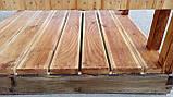 Душ дерев'яний літній з імітації бруса відкритого типу (в розібраному вигляді), фото 6