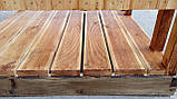 Душ деревянный летний из блок-хауса открытого типа, фото 6