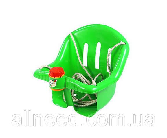 Дитячі пластикові гойдалки Orion 757OR підвісні (Зелений)