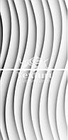 Гіпсові 3D (3д) панелі Wave Texturo