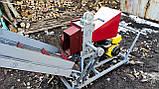 Подрібнювач гілок 120мм садовий з Транспортером.Веткоизмельчитель., фото 2